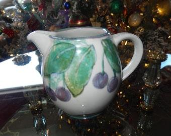 SCOTLAND HIGHLAND STONEWARE Art Pottery Pitcher