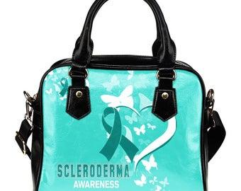 Scleroderma Awareness Shoulder Bag / Handbag