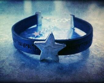 Bracelet {hOpe, heArt, lOve}