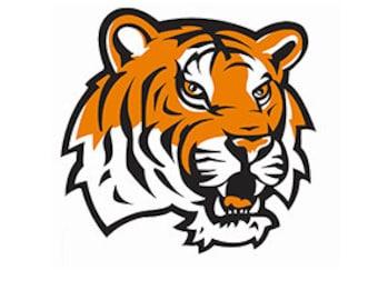 SVG - Tiger SvG.   JPG included. Digitally downloadable file only Mascot Tiger Logo TEam Spirit Logo, Tiger clipart