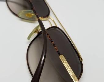 Vintage Carrera Aviator Gold Tortoise Sunglasses Australia 5532