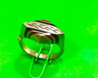 Ebony wood ring