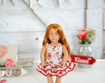 Bears Love Doll Dress