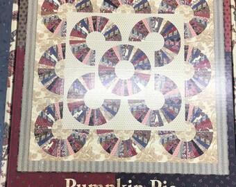 SALE!   KIT- Pumpkin Pie by Laundry Basket Quilts