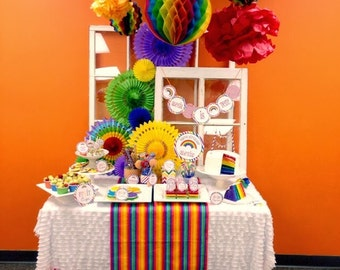 DIY,  Rainbow PARTY PACK