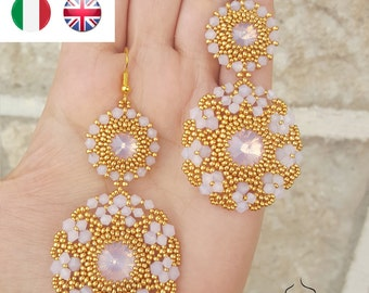 Earrings Diva- beading pattern