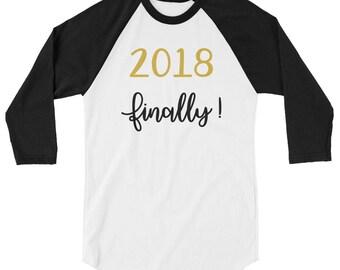 New Years Tee, Happy New Year Shirt, Party Shirt, Celebrate New Years Custom Tee, New Year Top For Her,New Year Top For Him, 2018 T-Shirt