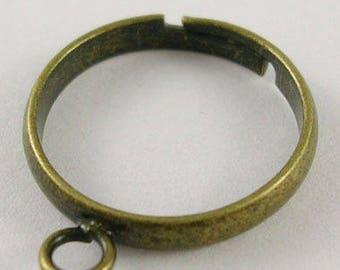 X 1 ring 1 bronze 18mm ❤ ❤