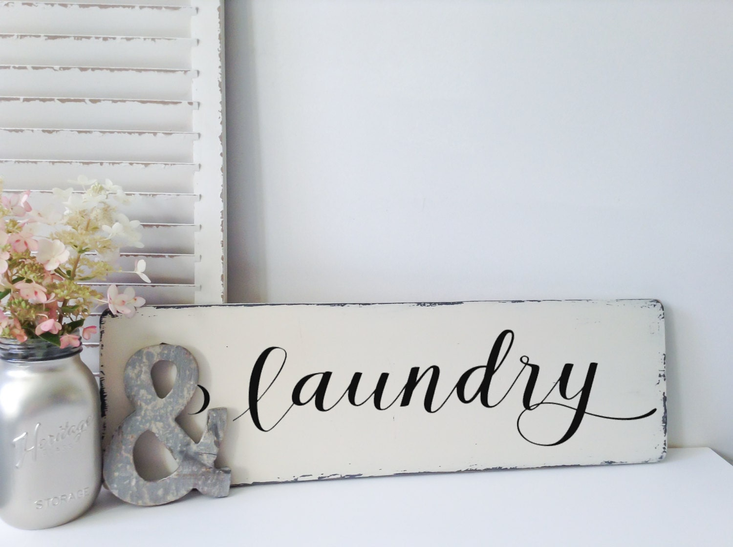Laundry Room Sign Signs Wood