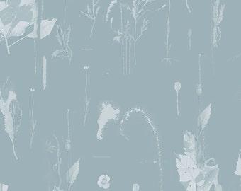 In Flandres fields, wallpaper, Blue, size 135 cm (w) x 275 cm (h)