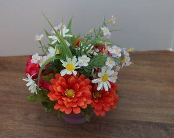 Summer floral flowers