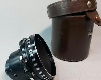 Mir-11 2.2/12.5mm Soviet lens for Krasnogorsk 1,2,3 movie camera bayonet mount