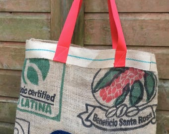 Coffee Sack Shopper - Recycled