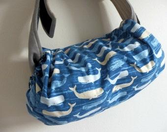 Baby carrier pod/bag/sack/storage  for  Ergo, Tula, Boba, Beco, Manduca, etc...-Whales