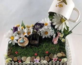 Fairy garden - a little quiet time