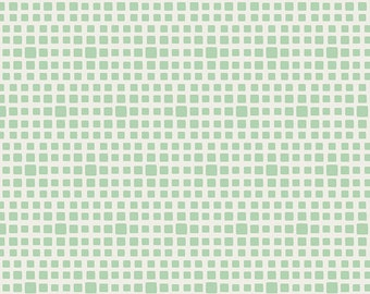 Seafoam Squares From Art Gallery's Squared Elements - Choose Your Cut