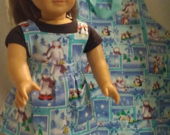 "Dolly & Me Apron Set ""PolarBear"""
