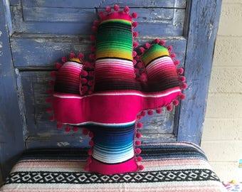 Saguaro Cactus-shaped Pillow