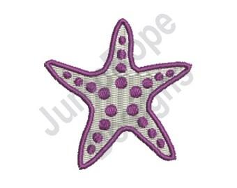 Starfish - Machine Embroidery Design