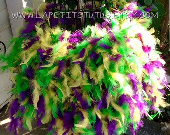 Adult Feather tutu, maternity tutu, mardi gras, photo prop, feather skirt, mommy to be, hand sewn, matenity skirt, feather skirt, womens