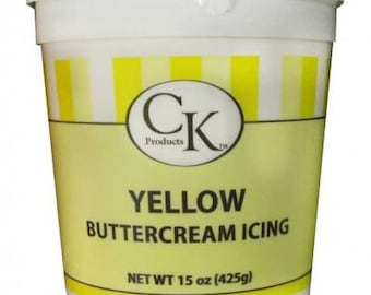 CK Products Yellow Buttercream Icing 15oz