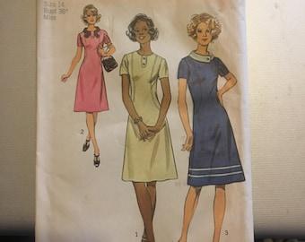 Vintage Simplicity 5094 Dress Pattern-Size 14 (36-28-38)