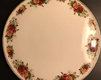Large Gateau Platter Cake Plate by H. Aynsley & Co Ltd Staffordshire England