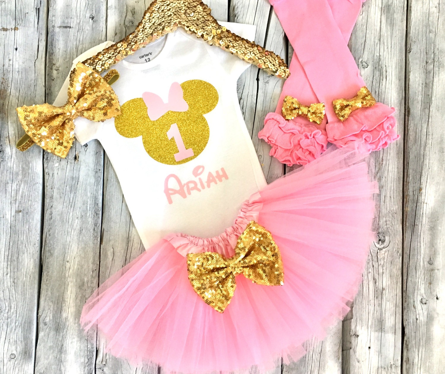 Etsy Mickey Mouse 1st Birthday Outfit | Lauren Goss