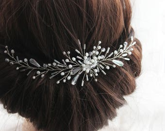 Bridal Headband, Wedding hair piece, Bridal hair combs, Wedding headpiece , Wedding Hair Vine, Hair jewelry, Brides accessories