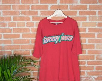 90's Tommy Jean Racing Gear T-Shirt