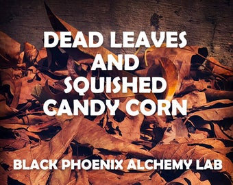 Dead Leaves and Squished Candy Corn
