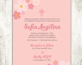 Fun and Floral Baptism Ch...