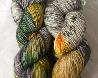 Daydreaming Hand Dyed Sock Yarn