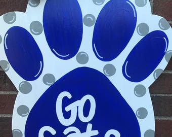 Go Cats paw Door Hanger