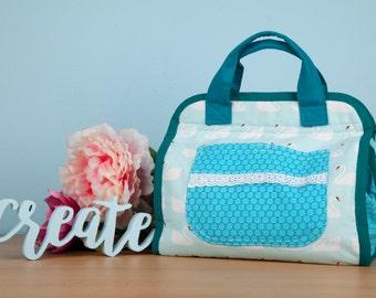 Makers tote / Design your own Maker's tote / Custom tote / Project bag / Crochet bag / Travel bag / Handbag / Purse