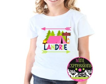 Happy Camper shirt Personalized just for you