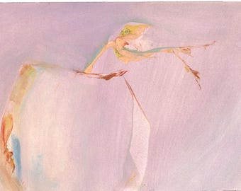 Vessel Watercolor #34 7x10