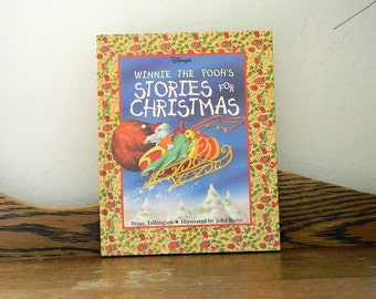 Winnie The Pooh's Stories For Christmas - By Bruce Talkington - 1996