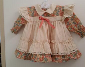 Vintage babies dress, toddler dress, summer dress