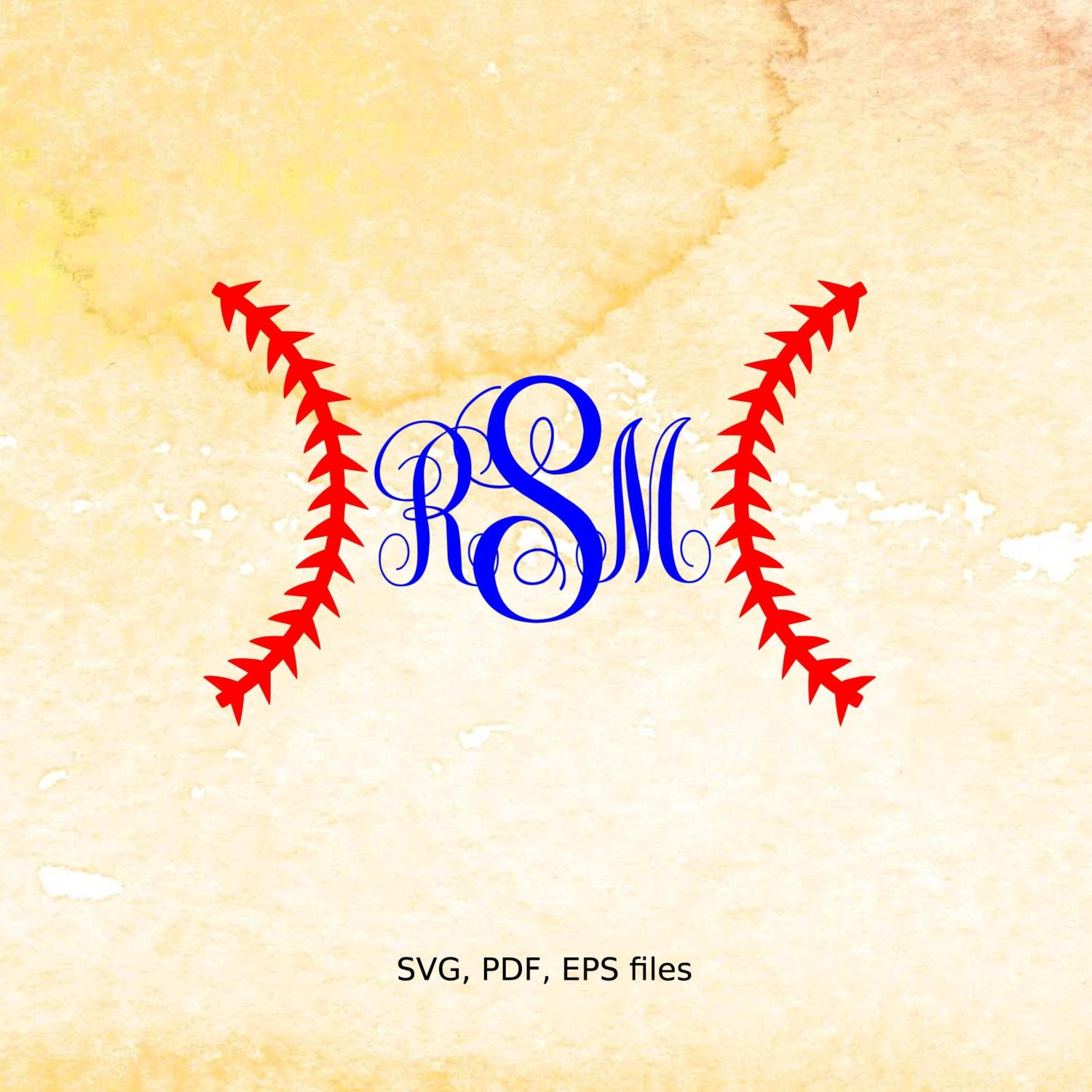 Baseball svg, Vector Baseball Stitch Monogram frame, softball svg ...