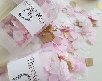 Confetti Push pop / Birthday Party Favor - Wedding Confetti - Confetti Cannon - Party confetti decor