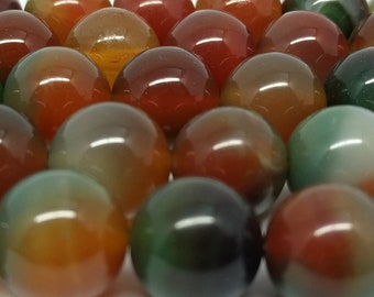 Agate Beads 12mm Beads Jewelry Beads for Jewelry Making DIY Jewelry Beads Supply Jewelry Supplies Beads for Bracelets Beads for Necklaces