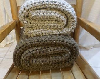 Crochet Pattern, Chunky Wool Blanket, Chucky Wool Throw, Chunky Wool Afghan