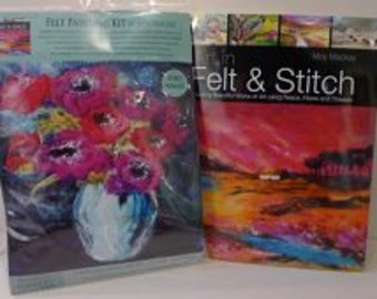 Anemones -  Felt Kit & Book offer