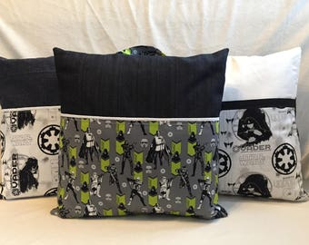 Handmaade Star Wars Travel/Reading Pillow