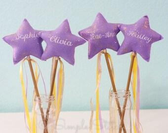 CUSTOM Star Wand - Fairy Wand - Handmade - Custom Wands - Party Favors - Pretend Play - Stars - Wand