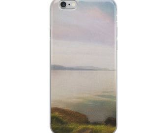Soft Water Scene Photo iPhone Case for Apple, Nature iPhone Case, Case For iPhone 6, 7 ,8, 6+,7+,8+, X, Gift For Her, Gift For Him