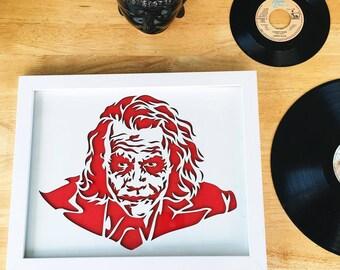 The Joker 3D Stencil