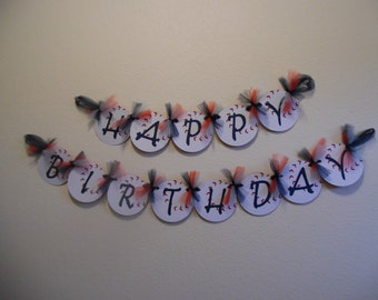 Baseball Birthday Banner - Baseball Birthday