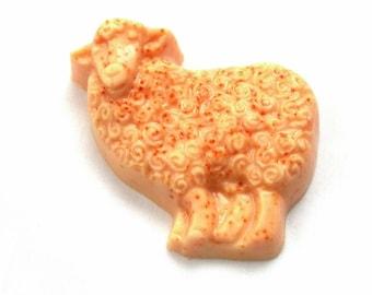 Sandalwood Vanilla Glycerin & Goats Milk Sheep soap bar by Lavish Handcrafted